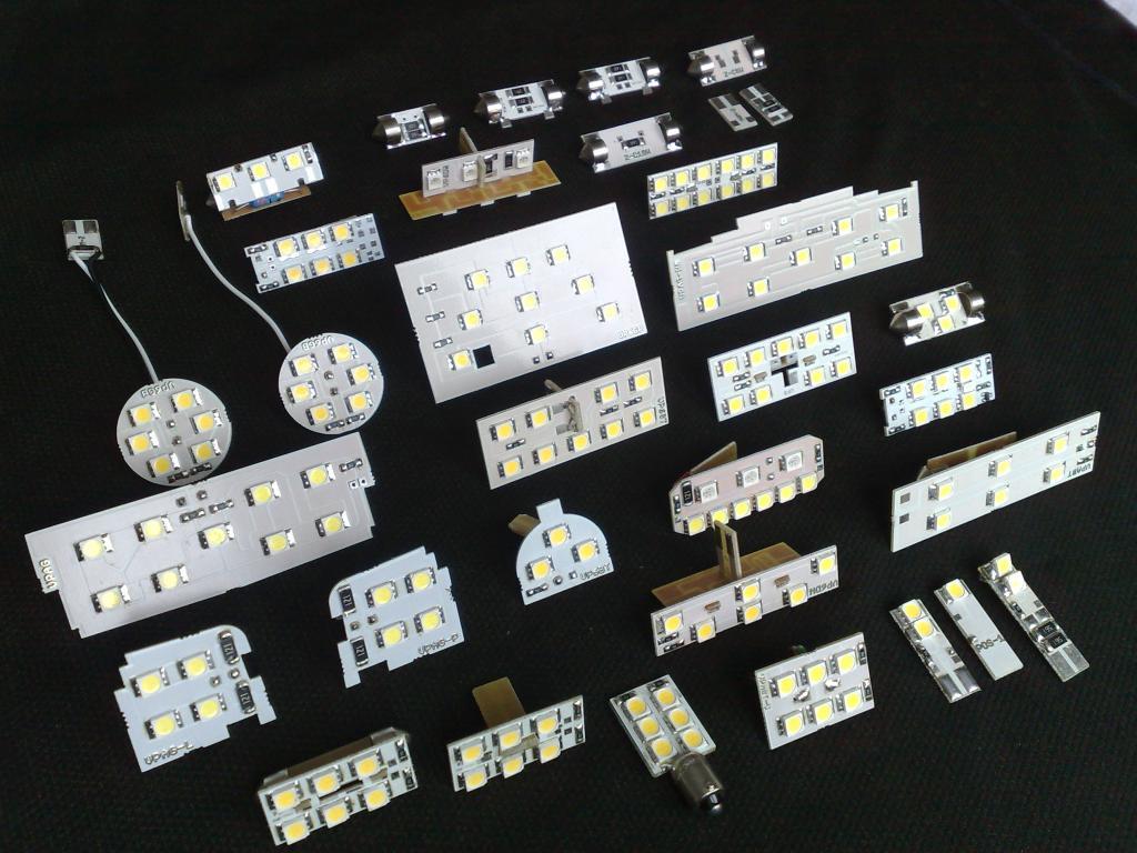 Oświetlenie Wnętrza Led C5 1997 2004